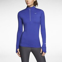 Nike Element Half-Zip Women's Running Top - Deep Night