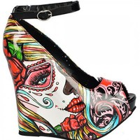 "Mega Wedge ""Long Gone"" by Too Fast Apparel"