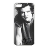 Harry Styles iphone 4 case, One Direction - Harry Styles - Hard Case Cover for iPhone 4 4s
