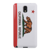DW Premium TPU IMD Case for Samsung Galaxy Note 3 - California