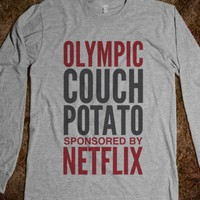 COUCH POTATO SPONSORED BY LONG SLEEVE T-SHIRT (IDB112305)