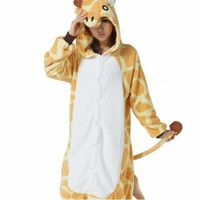 Ferrand Kigurumi Pajamas Unisex Adult Cosplay Costume Animal Pyjamas Giraffe
