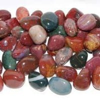Fancy Jasper Tumbled Stone - Small at Every Witch Way Online Shop
