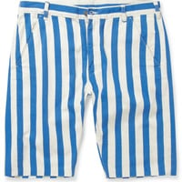 Levi's Vintage Clothing - Striped Cotton-Twill Shorts | MR PORTER