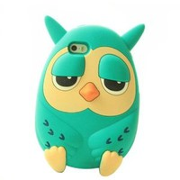 Cute Stylish Cartoon Owl 3D Phone Case for iPhone 4/4s
