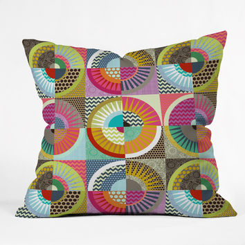 Sharon Turner New York Beauty Throw Pillow