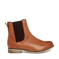 ASOS AU REVOIR Leather Chelsea Ankle Boots
