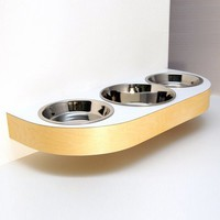 Vurv Design Maow Deluxe Cat Feeder by Vurv Design, Cat Bowls at ThePremiumPet.com