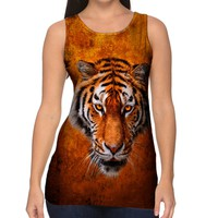 Yizzam- Tiger 001 - New Ladies Women Tank XS S M L XL 2XL 3XL 4XL