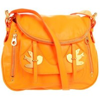 Marc by Marc Jacobs Petal To The Metal M3121105 Shoulder Bag,Fluoro Orange,One Size - designer shoes, handbags, jewelry, watches, and fashion accessories | endless.com