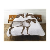 Thomaspaul Thoroughbred Duvet Cover for Queen Size Bed