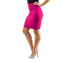 Women's Stretch Spandex Pull-on Flattering Pencil Skirt