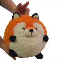 Mini Squishable Fox: An Adorable Fuzzy Plush to Snurfle and Squeeze!