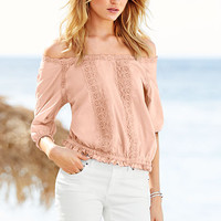 Crochet Blouse - Victoria's Secret