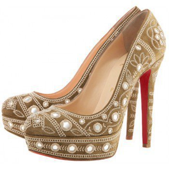 Christian Louboutin Mendoga platform pump