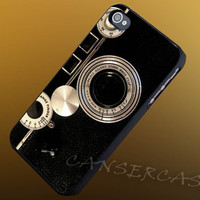 Old Camera Texture - iPhone 4/4s/5c/5s/5 Case - Samsung Galaxy S3/S4 Case - Black or White