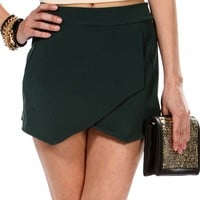 SALE- Hunter Envelope Skort