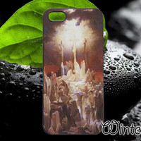 Jessus In Cross,Accsessories,Case,Cell Phone,iPhone 4/4S,iPhone 5/5S/5C,Samsung Galaxy S3,Samsung Galaxy S4,Rubber-29/08/D-18
