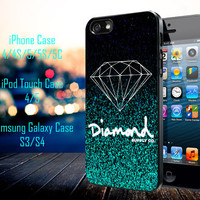 Glitter Diamond Supply Co Samsung Galaxy S3/ S4 case, iPhone 4/4S / 5/ 5s/ 5c case, iPod Touch 4 / 5 case