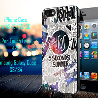 5 Seconds Of Summer Collage Samsung Galaxy S3/ S4 case, iPhone 4/4S / 5/ 5s/ 5c case, iPod Touch 4 / 5 case