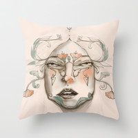 The Duchess Throw Pillow by Ben Geiger
