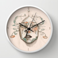 The Duchess Wall Clock by Ben Geiger