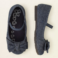 baby girl - shoes - denim ballet flat | Children's Clothing | Kids Clothes | The Children's Place