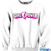 Power Girl crewneck