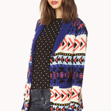 Fresh Southwestern-Inspired Cardigan
