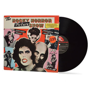 "ROCKY HORROR PICTURE Show - ""Original Sound Track"" vinyl record"