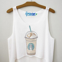 cara frap crop top