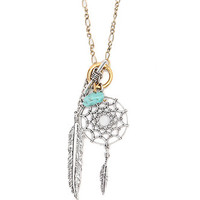 With Love From CA Dreamcatcher Charm Necklace at PacSun.com