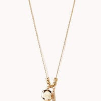 Parisian Chic Charm Necklace