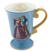 Disney Store Disney Fairytale Designer Collection Princess Rapunzel and Flynn Rider Mug: Tangled Coffee Cup