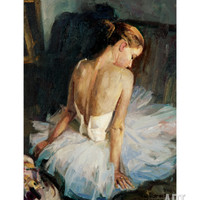 Thinking Giclee Print by Vasily Bratanyuk at Art.com