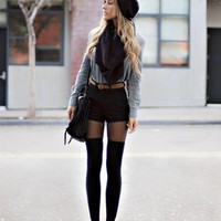 Denim-with-shorts-and-tights