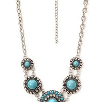 Boho Medallion Necklace