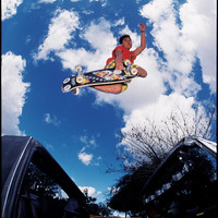 Steve Caballero Skateboarding Photo 11X14 Image on 16X20 Paper - 80s Skate Photo