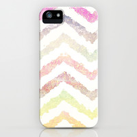 Spring Chevron - for iphone iPhone & iPod Case by Simone Morana Cyla