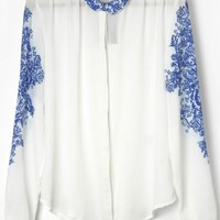 Chinese Style Button-up Shirt