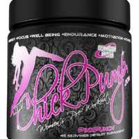 Pre Workout for Women - Chick Pump Pink Punch 45 Servings