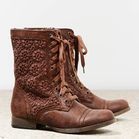 AEO CROCHETED LACE FRONT BOOT