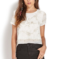 Dainty Beaded Top