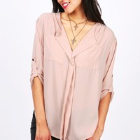 Cruise Crew Blouse | Tops at Pink Ice