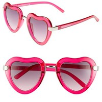 Steve Madden 'Heart' 46mm Sunglasses | Nordstrom
