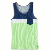 AE COLORBLOCK POCKET TANK