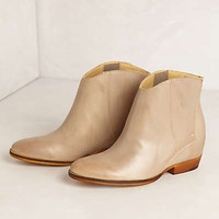 Aria Hidden-Wedge Booties