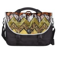 Chevron Safari Laptop Bag