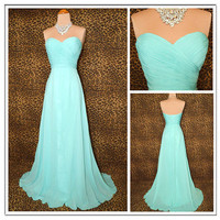 Sweetheart Grace Timeless Glamour Prom Dress,bridesmaid dress,long prom dress
