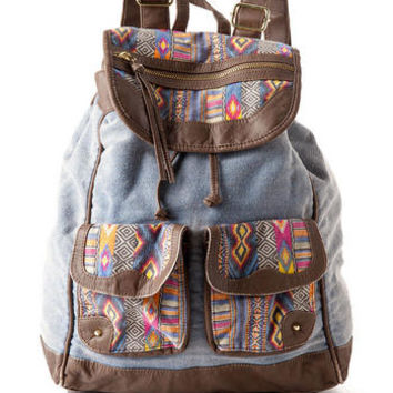 SIERRA VISTA PRINTED BACKPACK